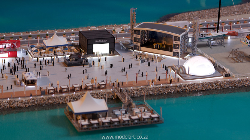 Architectural-Scale-Model-Sports Facilities-Volvo Ocean Race-5