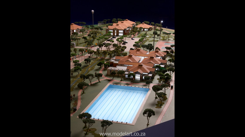 Architectural-Scale-Model-Sports Facilities-Royal Bafokeng Campus 2-5
