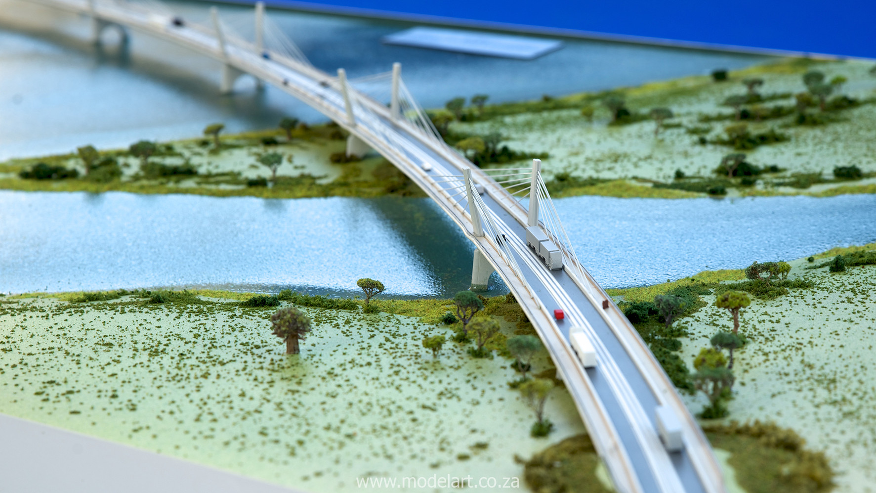 Architectural-Scale-Model-Engineering-Kazangula Bridge-6