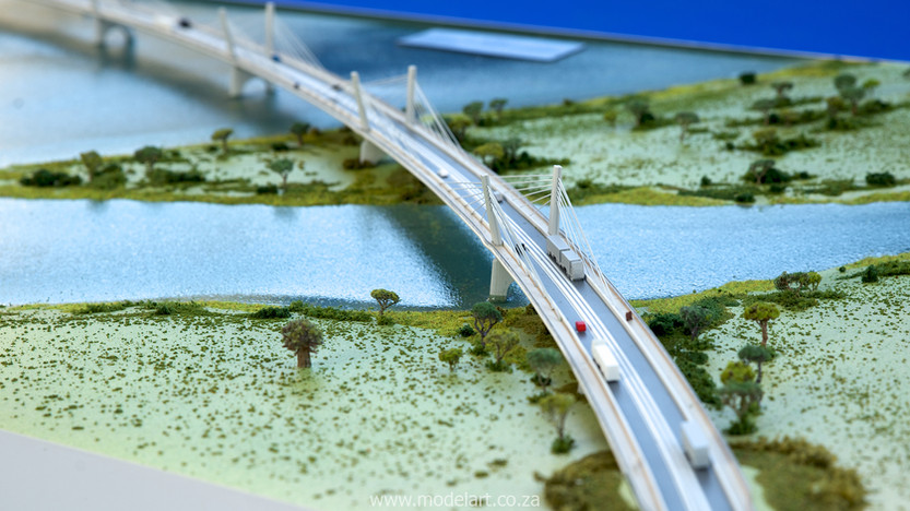 Architectural-Scale-Model-Engineering-Kazangula Bridge-6