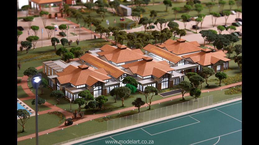 Architectural-Scale-Model-Sports Facilities-Royal Bafokeng Campus 2-6