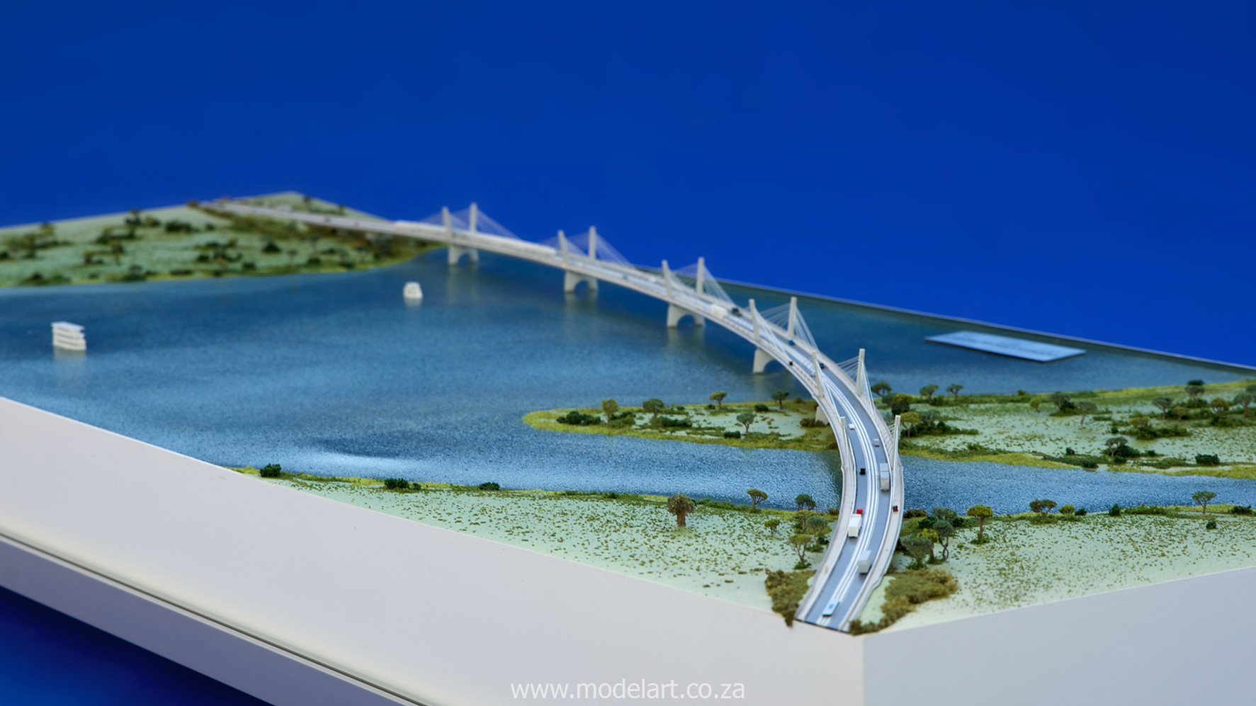 Architectural-Scale-Model-Engineering-Kazangula Bridge-5