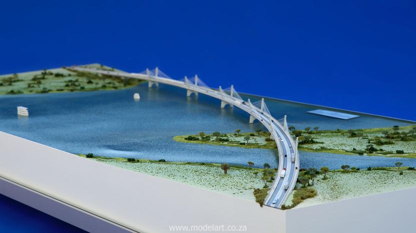 Architectural-Scale-Model-Engineering-Kazangula Bridge-5