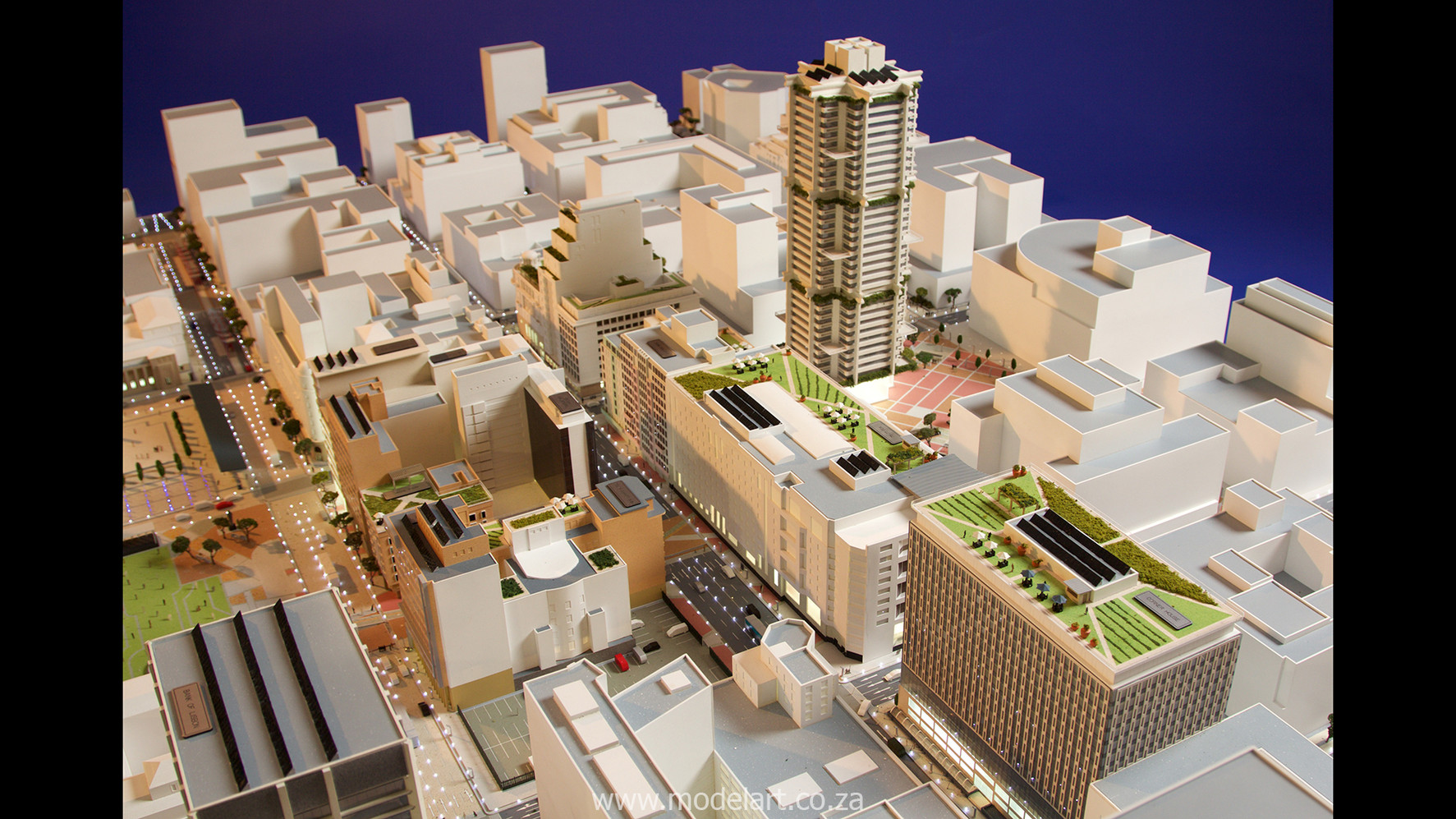 Architect Model-City-CBD-Kaponong3