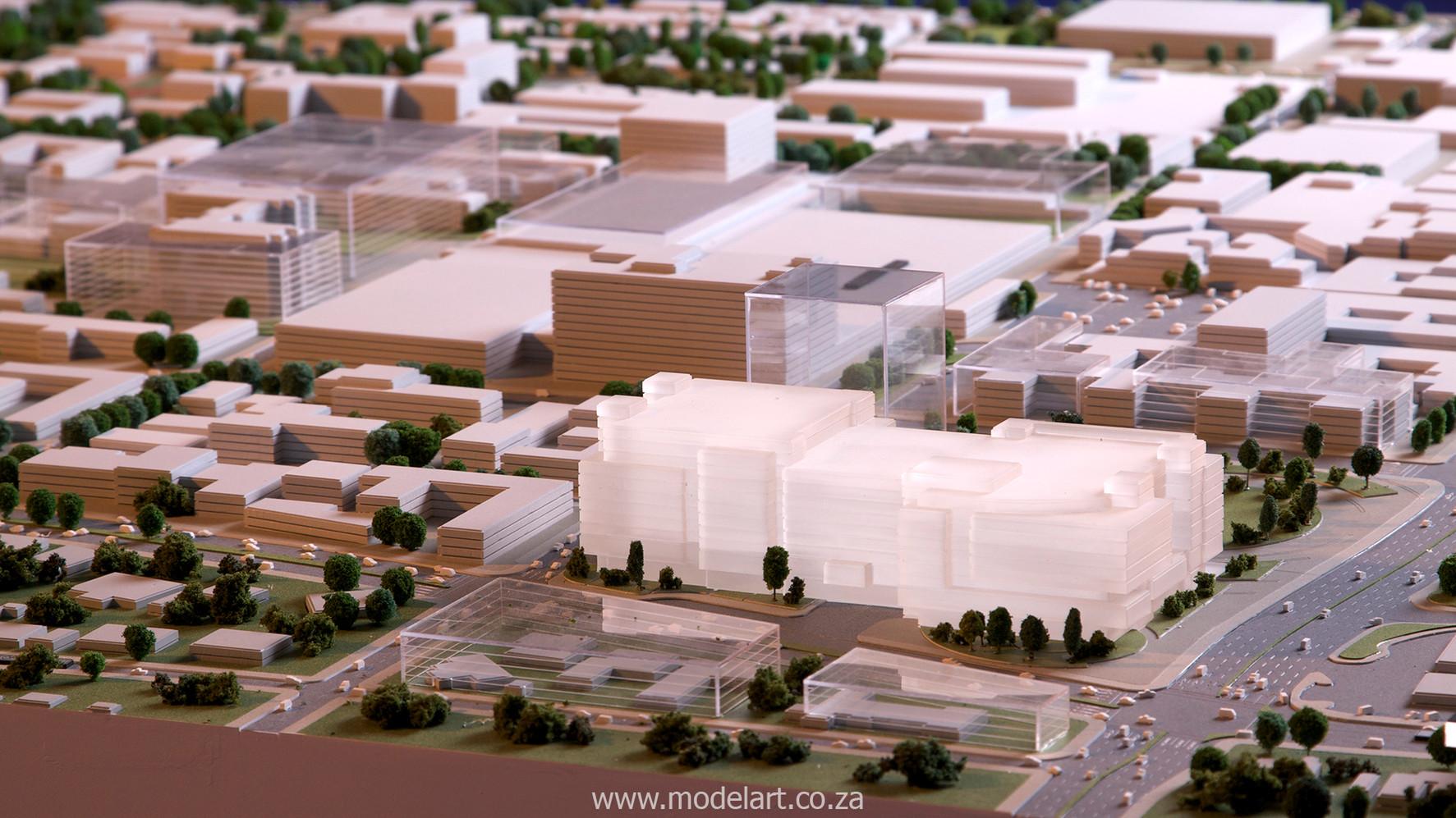 Architect Model-City-CBD-Standard Bank5