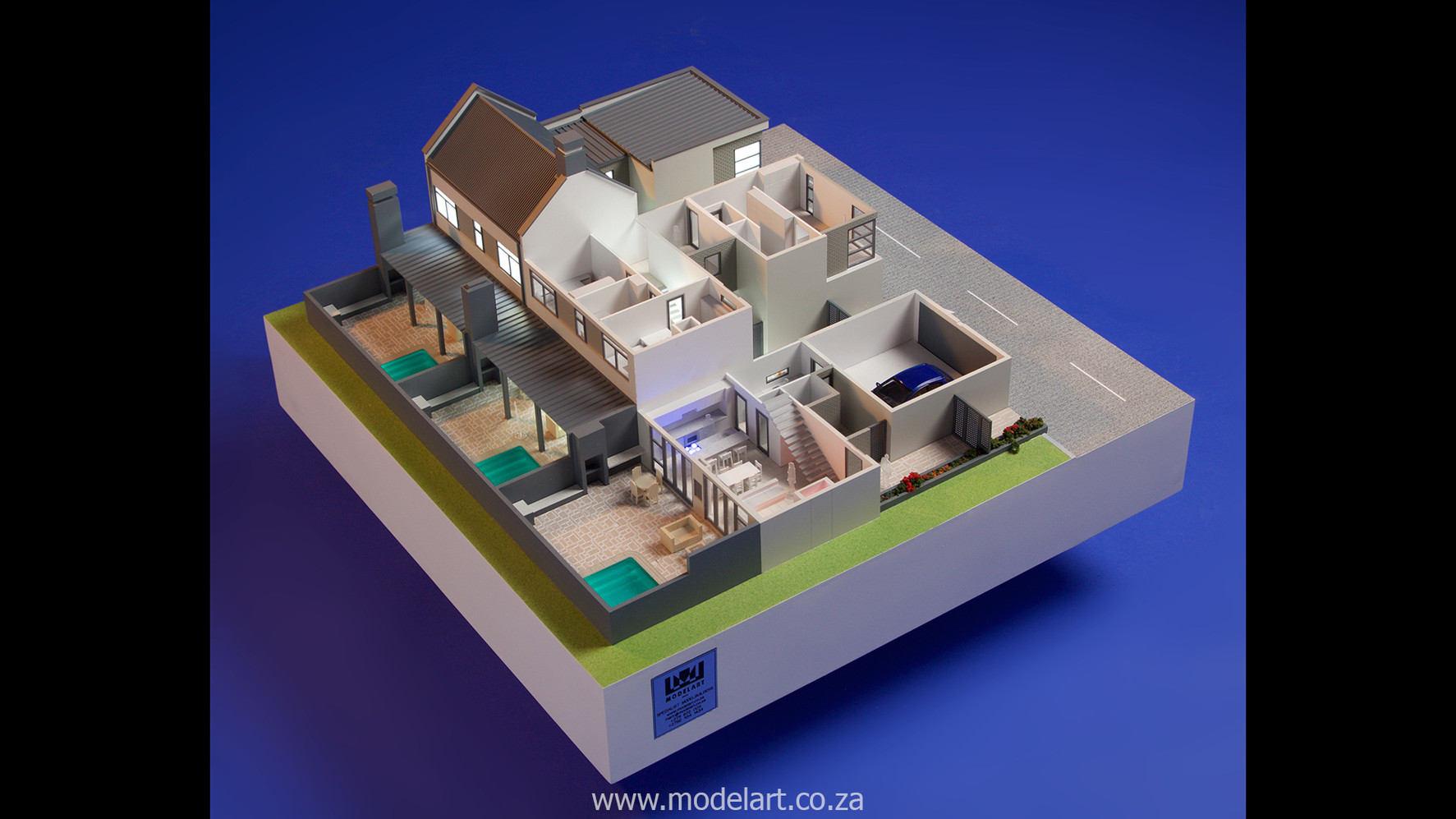 Architect Model-Villa-Interior-Olivia Estate-Windhoek-1