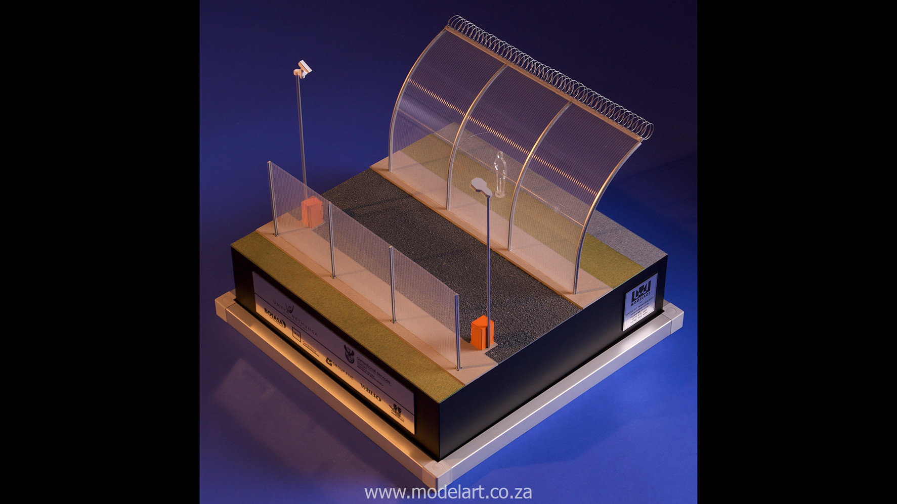 Architectural-Scale-Model-Engineering-Prison Fence-6