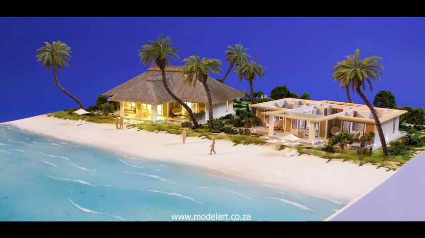 Architect Model-Villa-Resort-ADA Ghana4