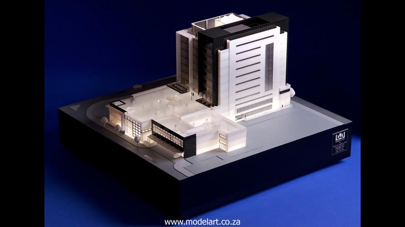 Architectural-Scale-Model-Conceptual-Tiber Rosebank-1