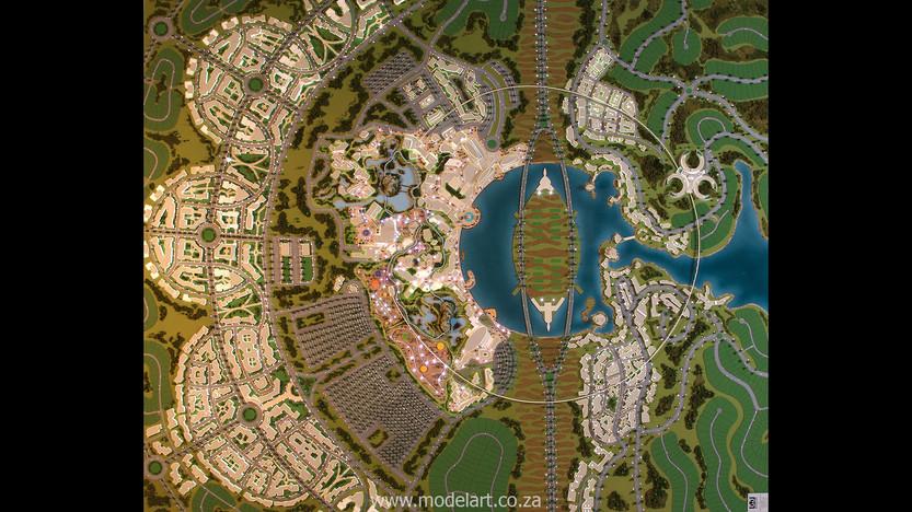 Architect Model-Masterplan-Thukela River Project3