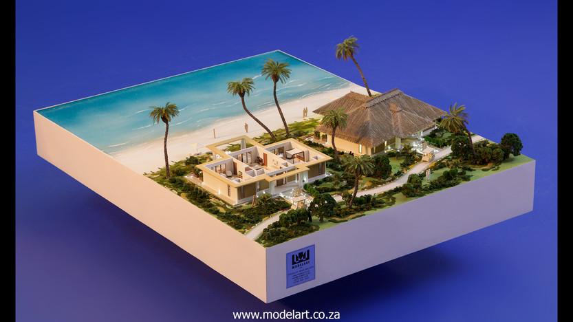 Architect Model-Villa-Resort-ADA Ghana1