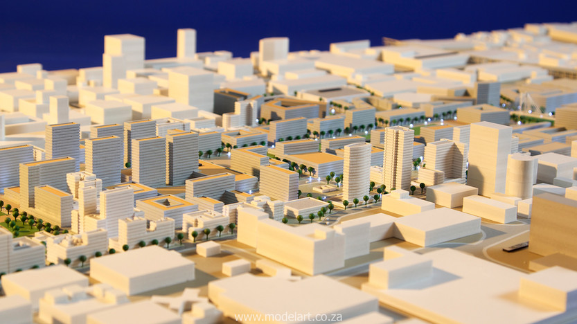 Architect Model-City-CBD-Johannesburg4