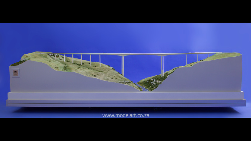 Architectural-Scale-Model-Engineering-Mtentu Bridge-5
