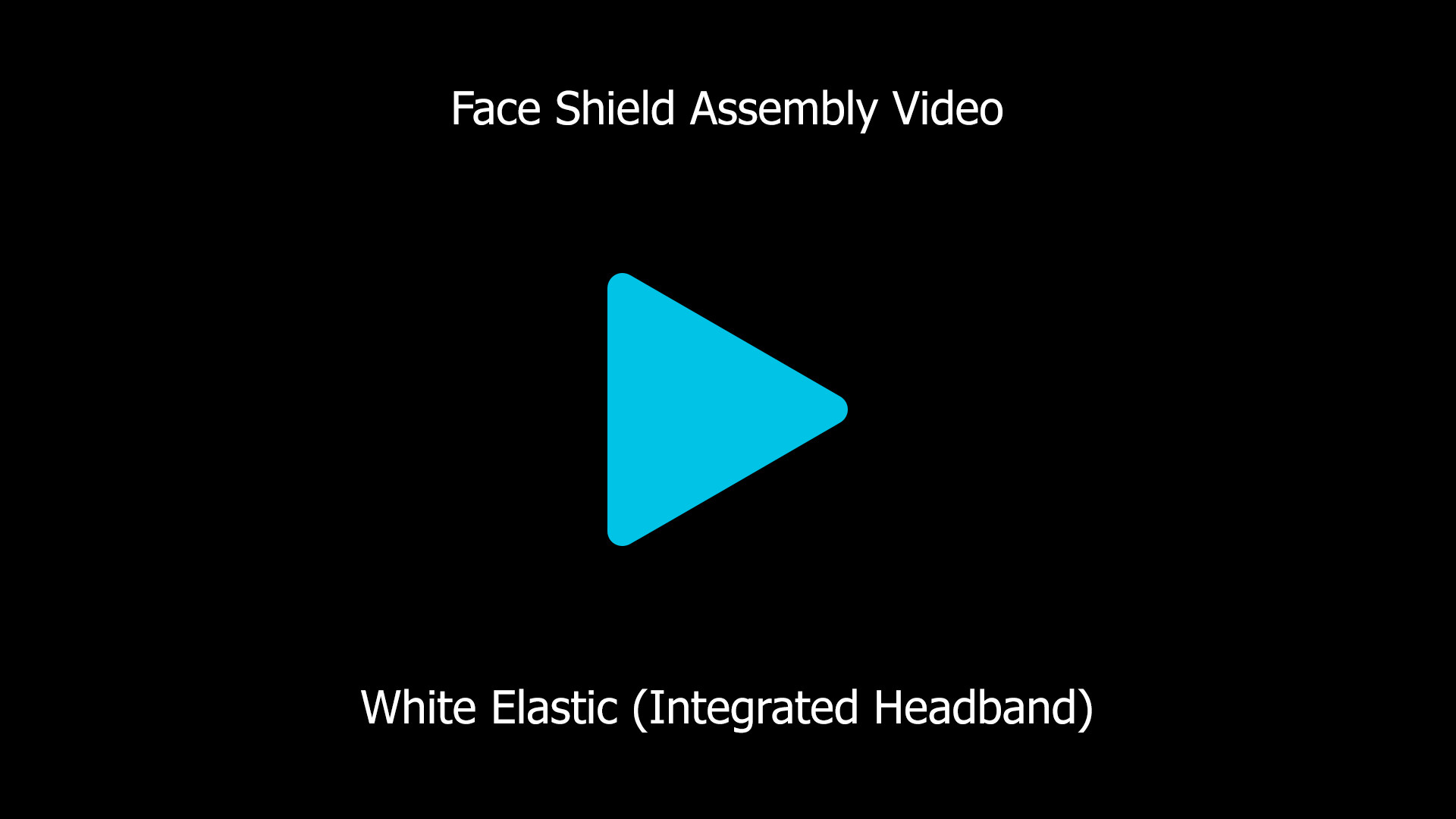 Modelart Face Shield - Assembly - JV - H