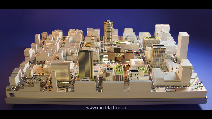 Architect Model-City-CBD-Kaponong2
