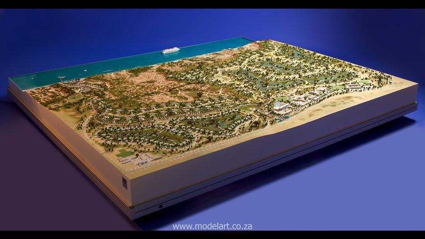 Architect Model-Resort-Angola2