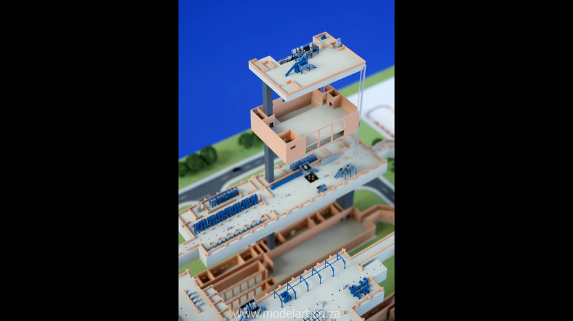 Architectural-Scale-Model-Engineering-Denel Munitions-4