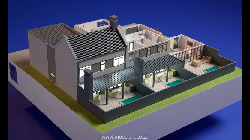 Architect Model-Villa-Interior-Olivia Estate-Windhoek6
