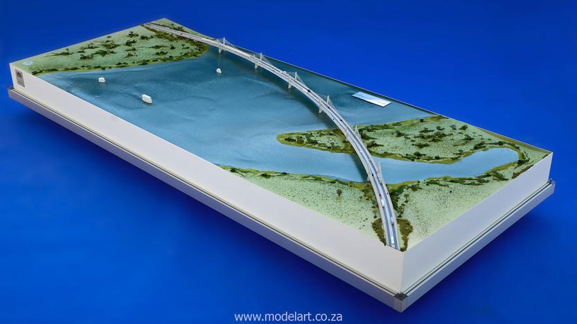 Architectural-Scale-Model-Engineering-Kazangula Bridge-2