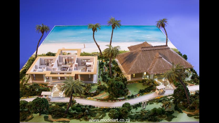 Architect Model-Villa-Resort-ADA Ghana5