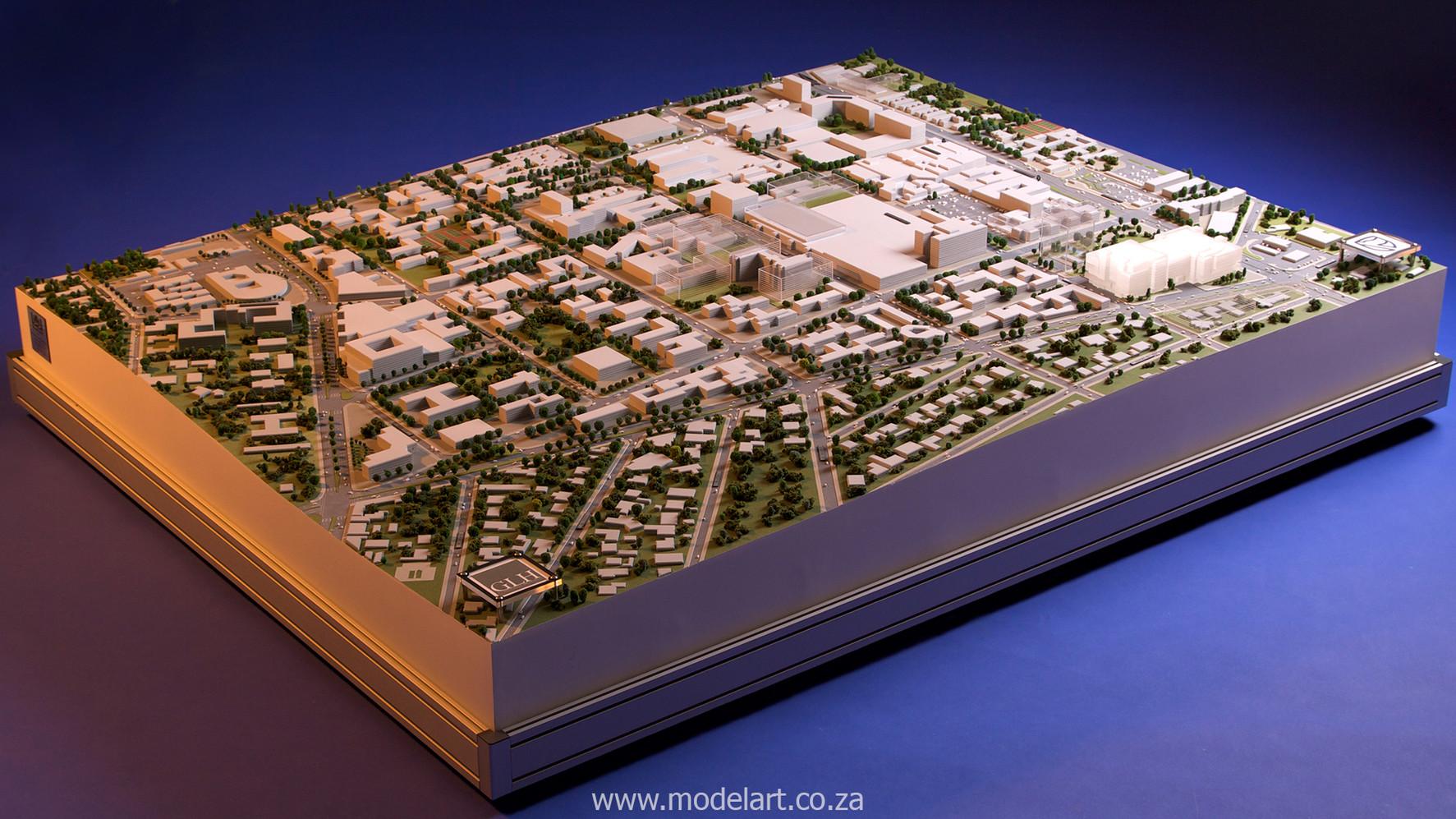 Architect Model-City-CBD-Standard Bank3