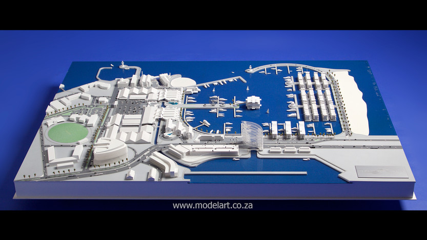 Architect Model-Harbour-Walvisbay2