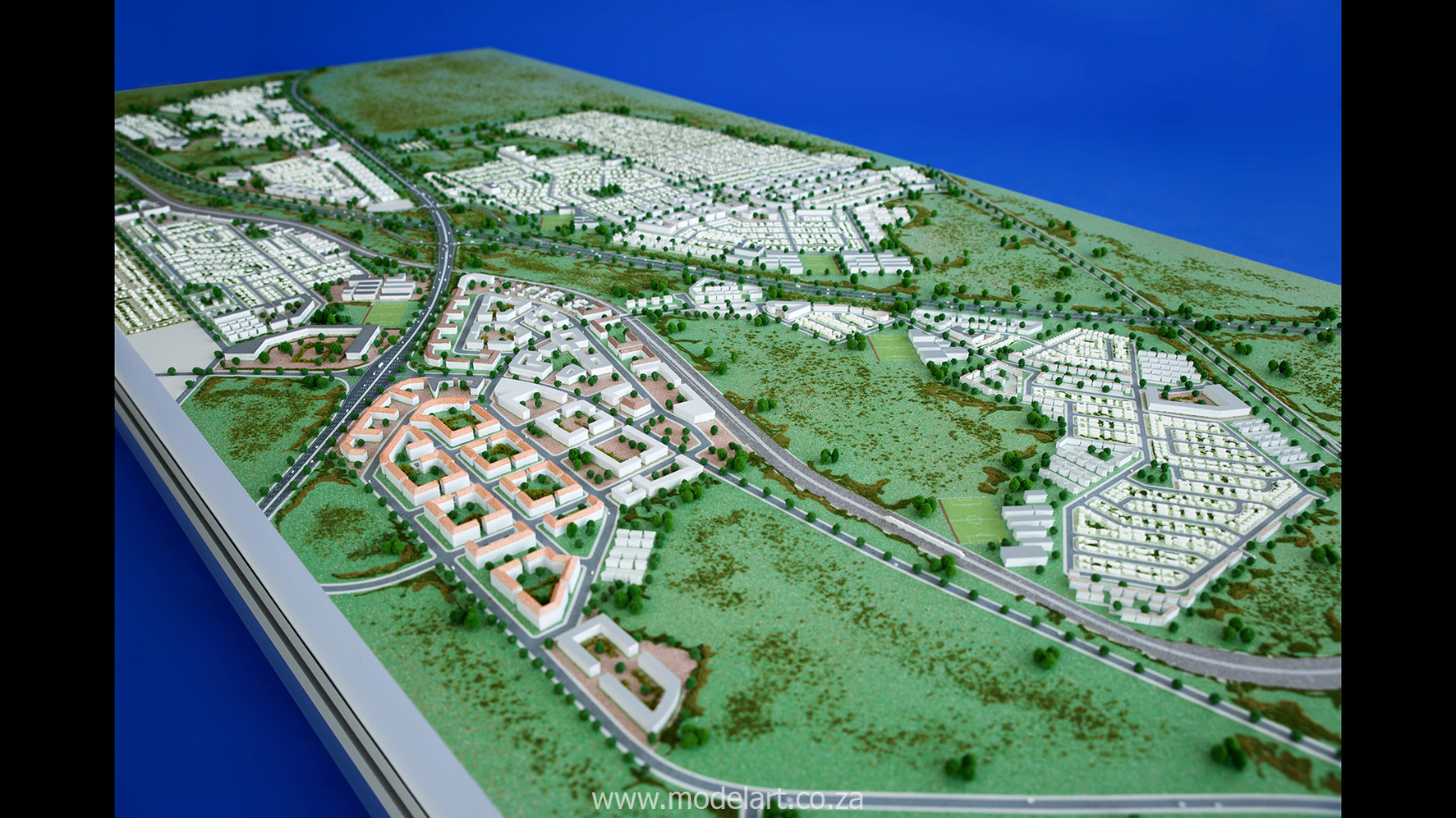 Architect Model-Development-John Dube Village6