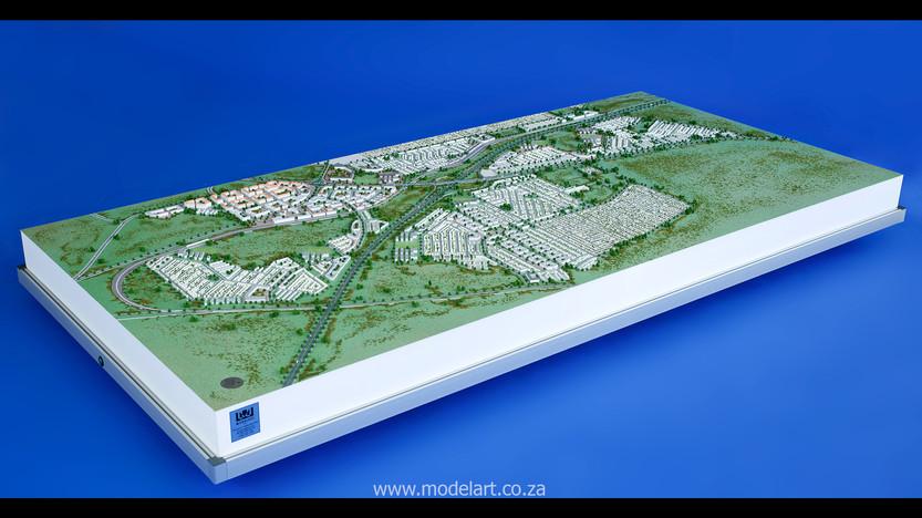 Architect Model-Development-John Dube Village1