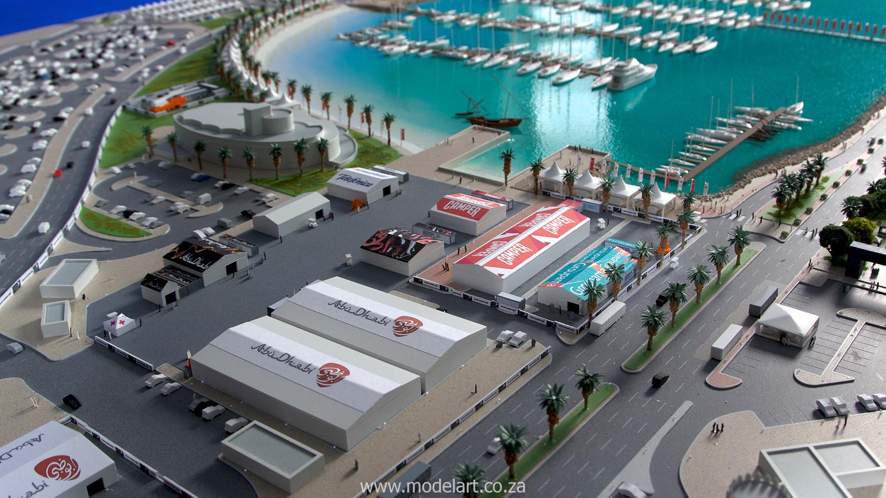 Architect Model-Sports-Harbour-Volvo Ocean Race7