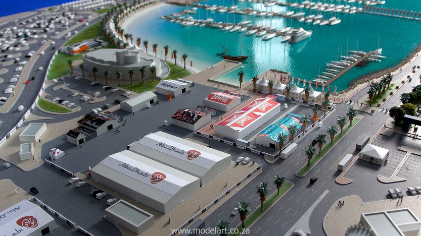 Architect Model-Sports-Harbour-Volvo Ocean Race7
