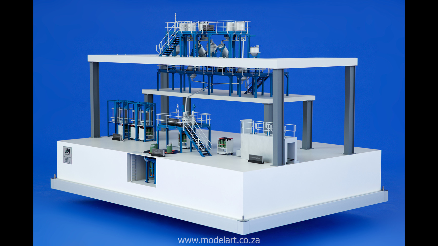 Architectural-Scale-Model-Engineering-Denel Munitions Plant 2-2