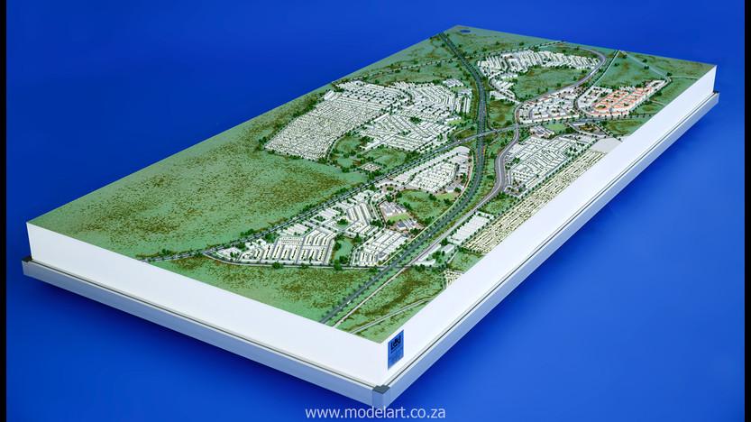 Architect Model-Development-John Dube Village4