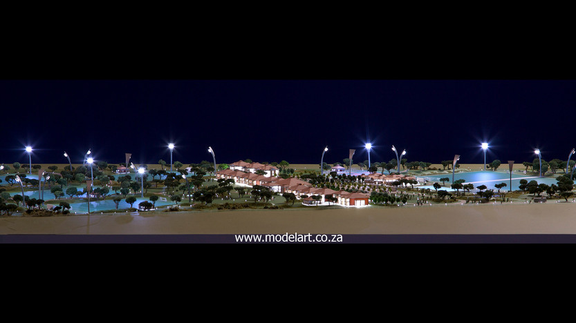Architectural-Scale-Model-Sports Facilities-Royal Bafokeng Campus 1-2