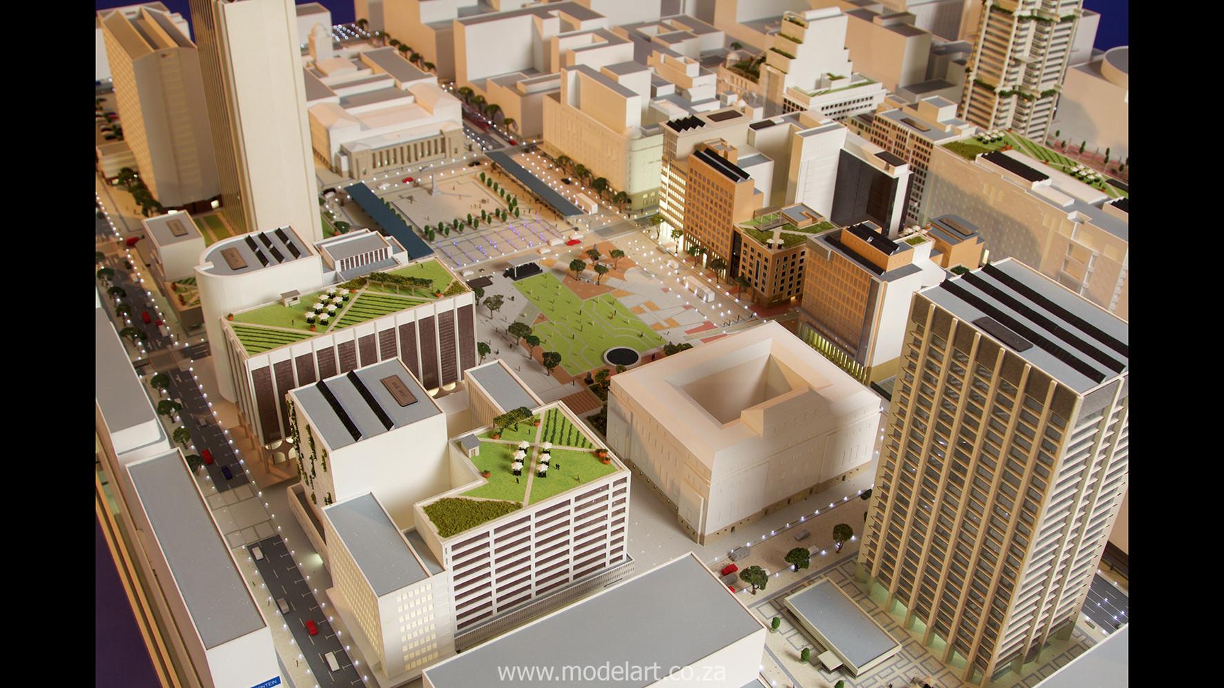 Architect Model-City-CBD-Kaponong6