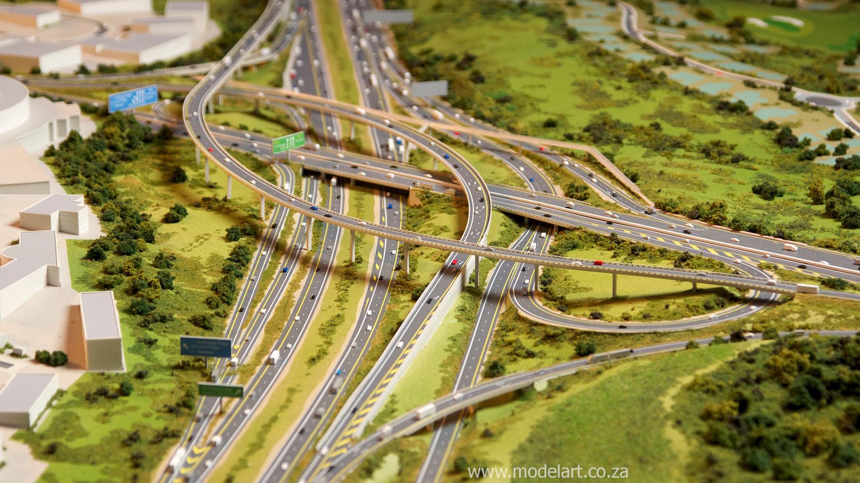 Architectural-Scale-Model-Engineering-Mt Edgecomb Interchange-6