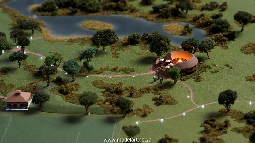 Architectural-Scale-Model-Sports Facilities-Royal Bafokeng Campus 1-6