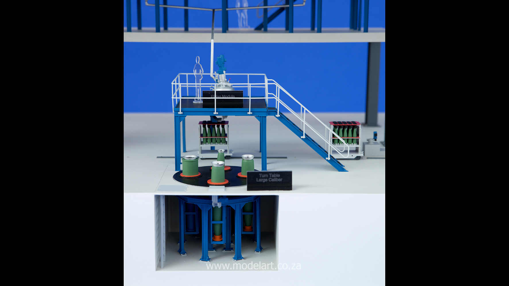 Architectural-Scale-Model-Engineering-Denel Munitions Plant 2-6