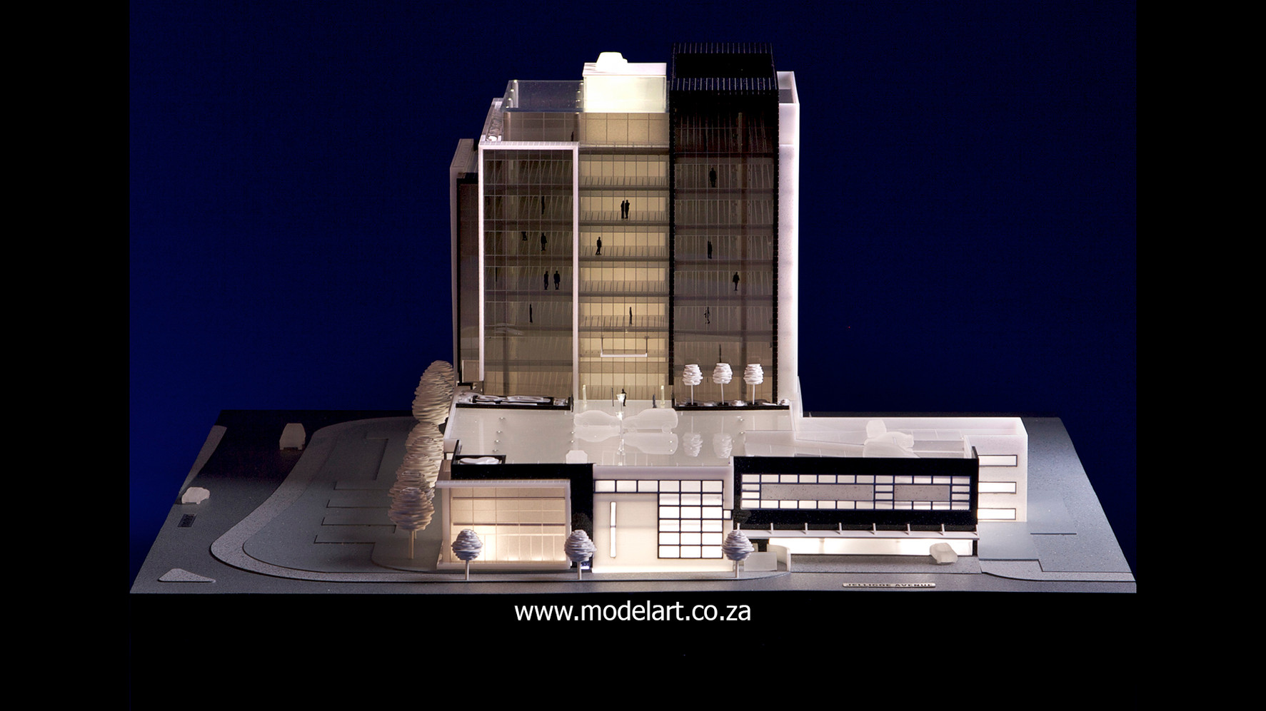 Architectural-Scale-Model-Conceptual-Tiber Rosebank-2