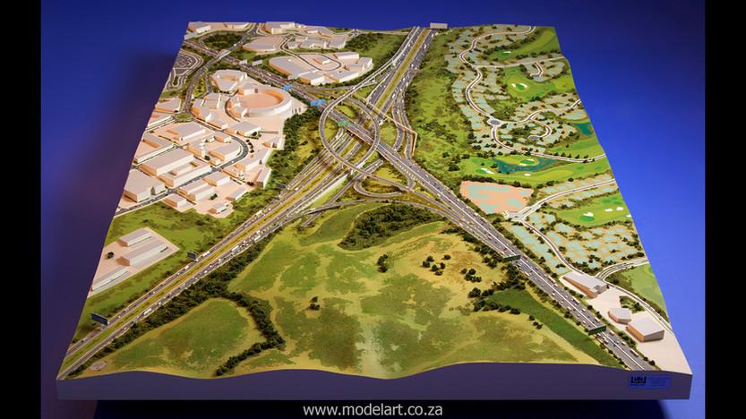Architectural-Scale-Model-Engineering-Mt Edgecomb Interchange-2