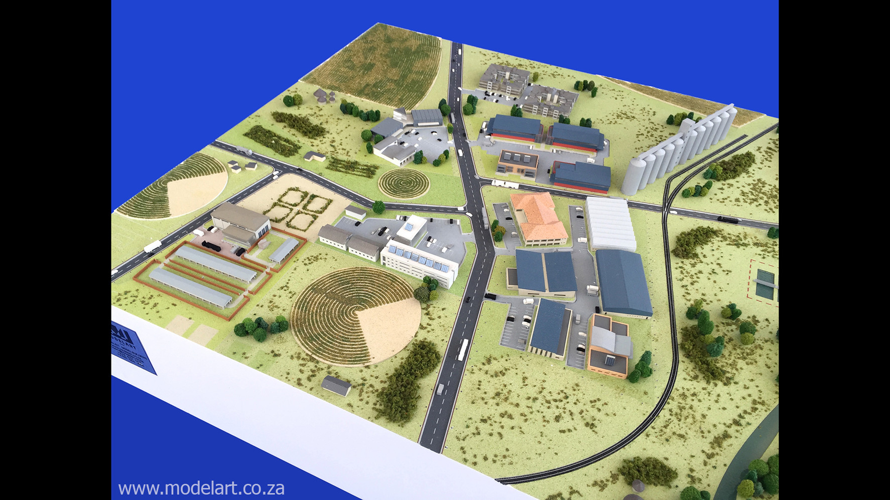 Architectural-Scale-Model-Industrial-Agri Park-5