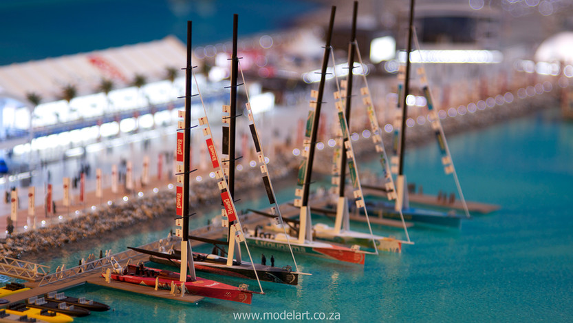 Architectural-Scale-Model-Sports Facilities-Volvo Ocean Race-6
