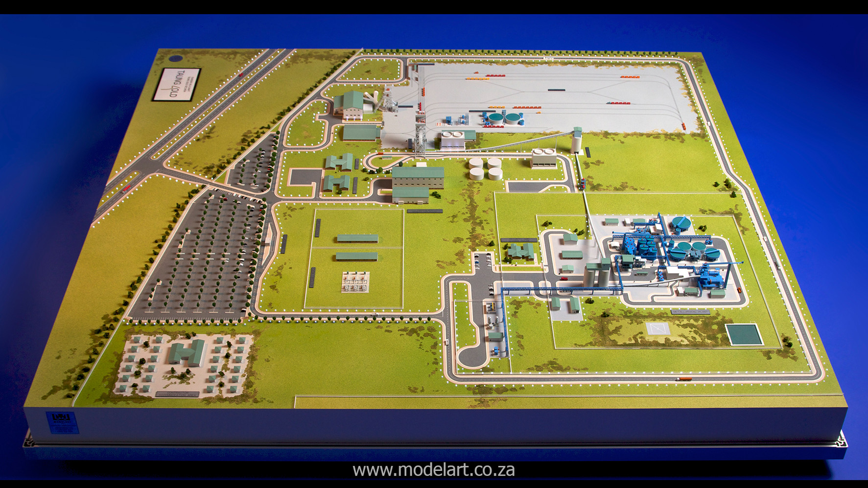 Architectural-Scale-Model-Engineering-Evander Shaft-1