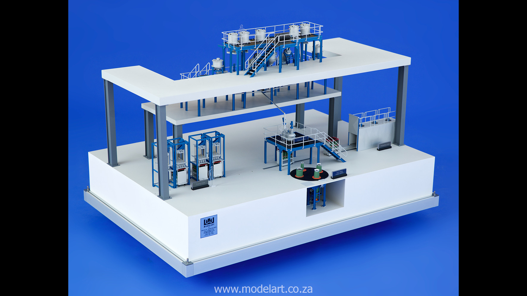 Architectural-Scale-Model-Engineering-Denel Munitions Plant 2-4