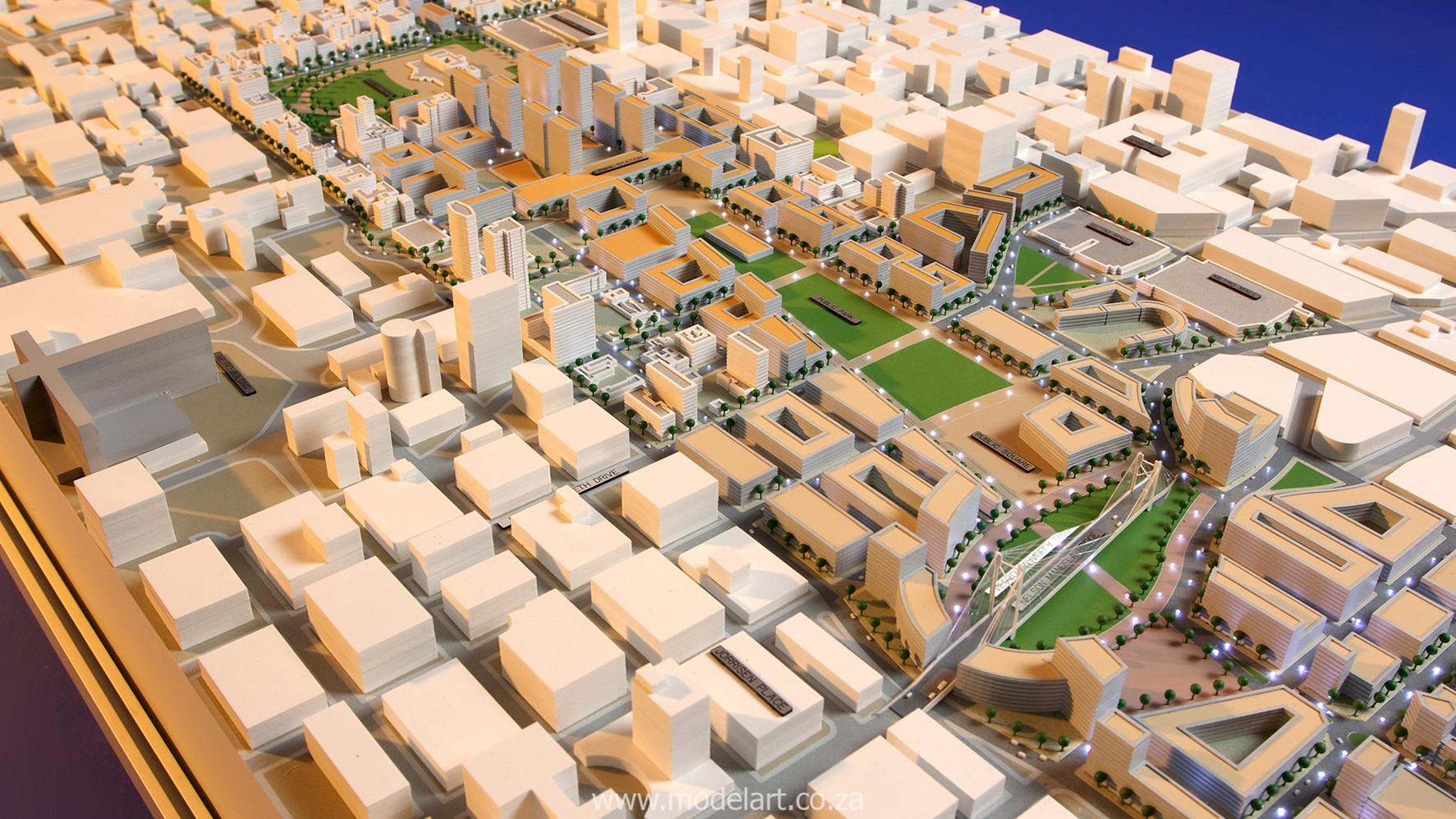 Architect Model-City-CBD-Johannesburg6