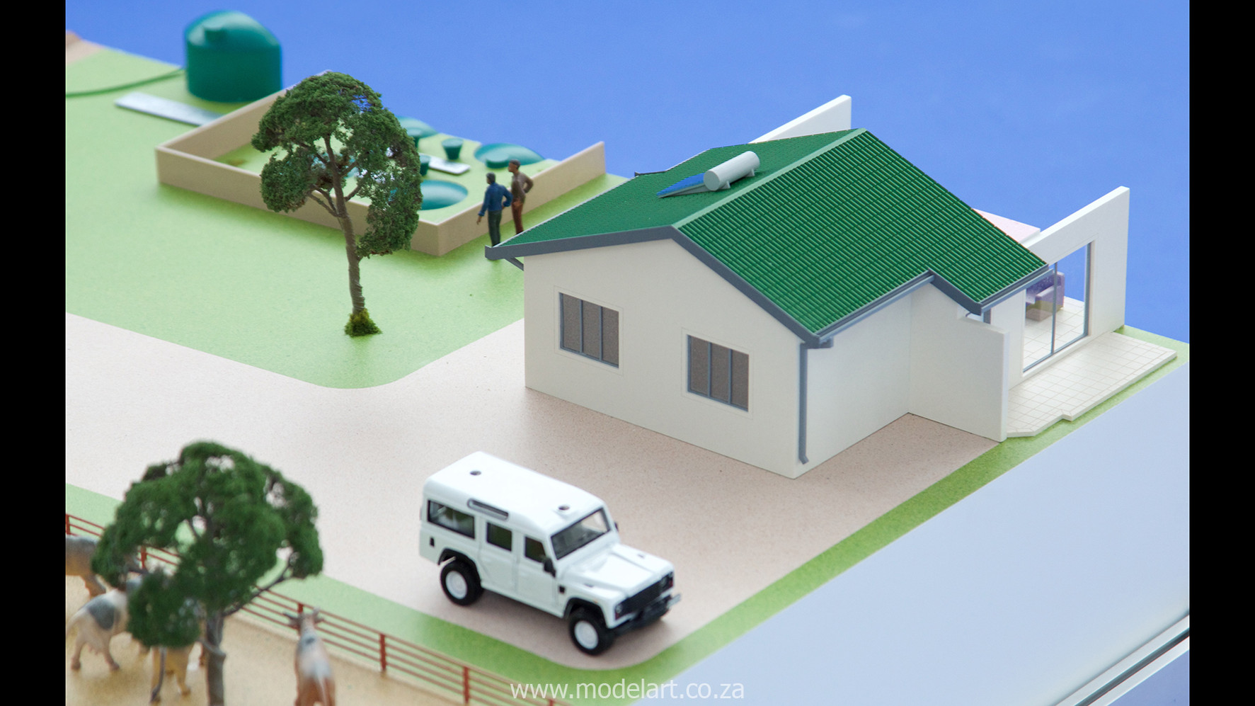 Architectural-Scale-Model-Industrial-Afgri Biogas-4
