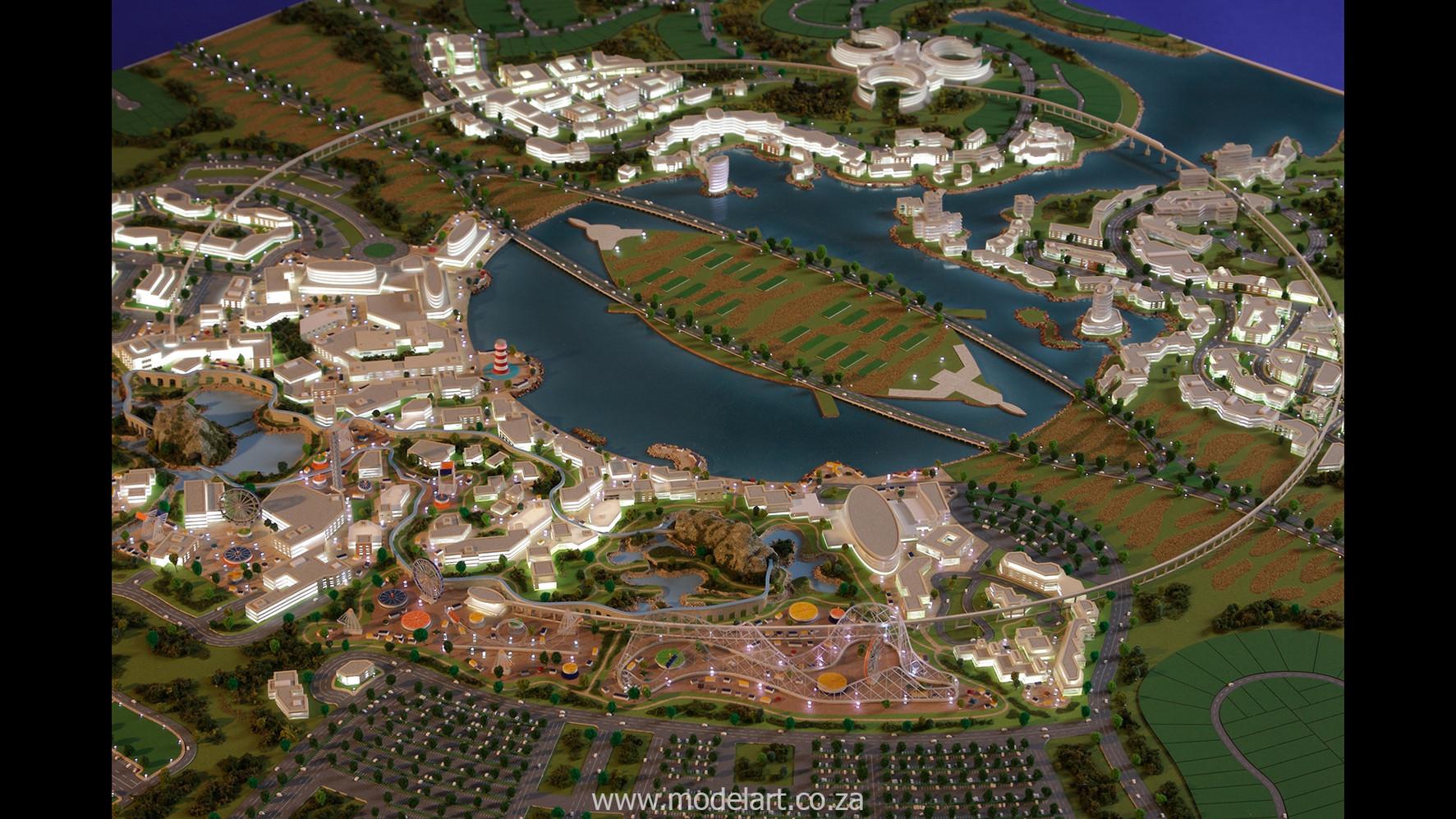 Architect Model-Masterplan-Thukela River Project5