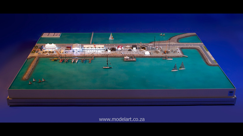 Architectural-Scale-Model-Sports Facilities-Volvo Ocean Race-4