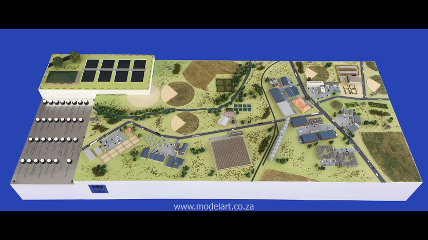 Architectural-Scale-Model-Industrial-Agri Park-1