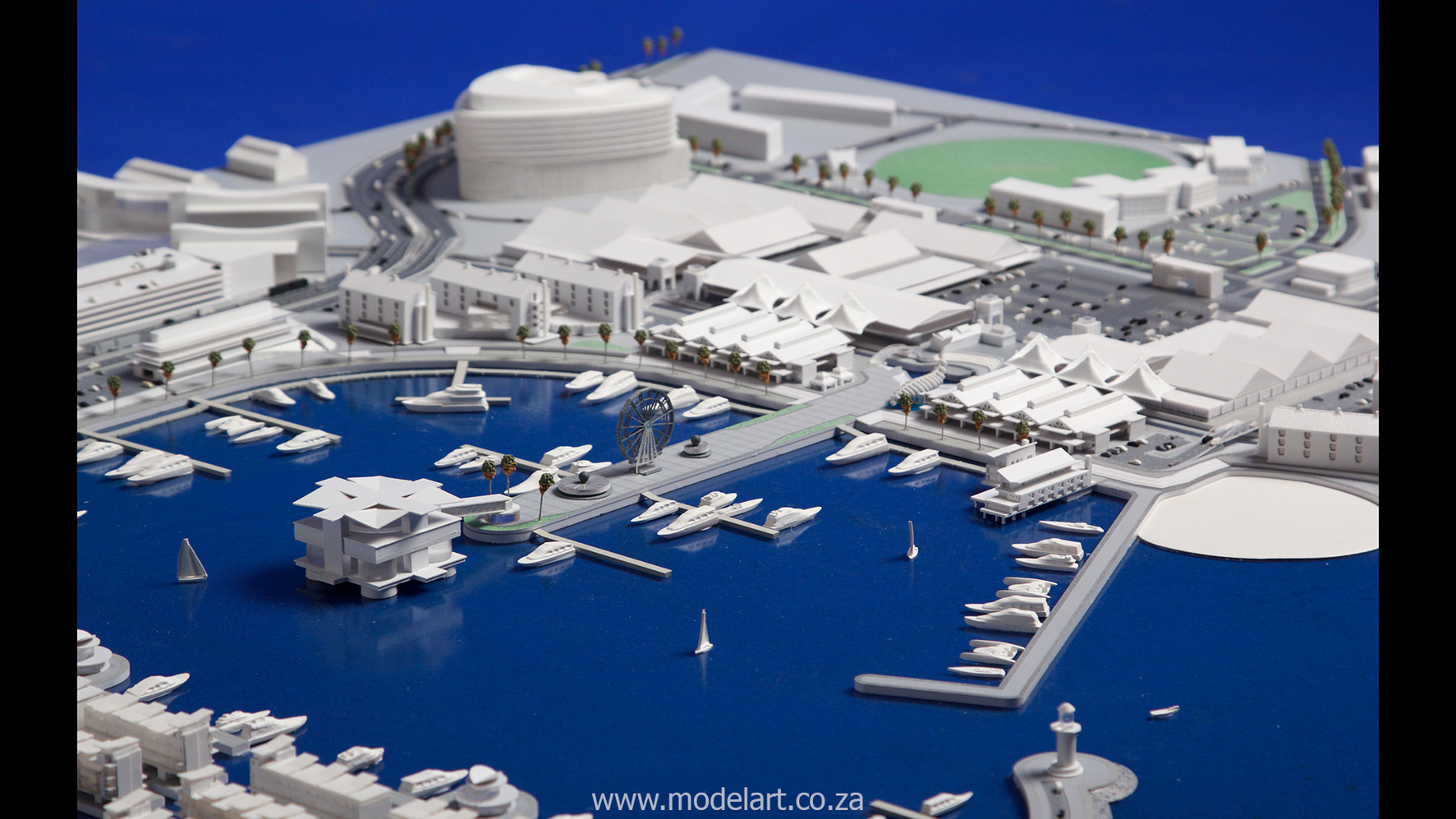 Architect Model-Harbour-Walvisbay3