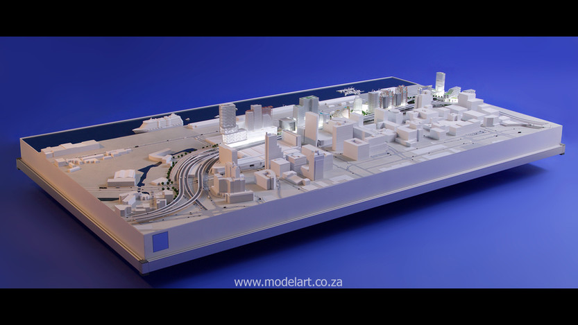 Architect Model-Harbour-Cape Town2